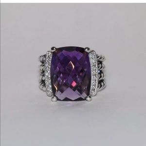 David Yurman Wheaton Amethyst ring
